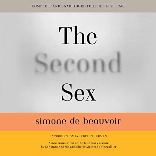 The Second Sex Audiobook By Simone de Beauvoir, Constance Borde, Sheila Malovany-Chevallier cover art