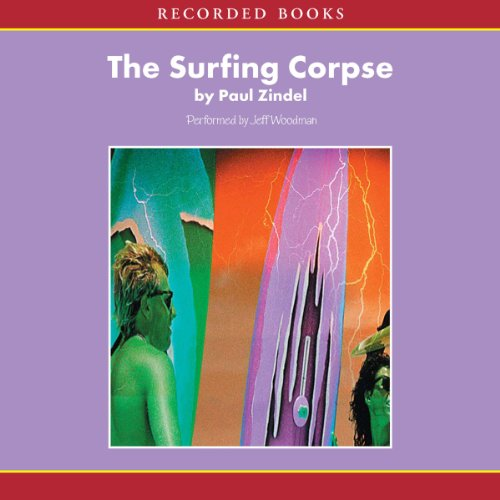 The Surfing Corpse Audiobook By Paul Zindel cover art