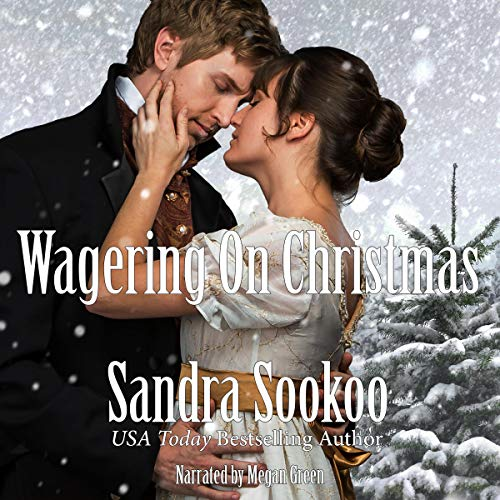 Wagering on Christmas Audiobook By Sandra Sookoo cover art