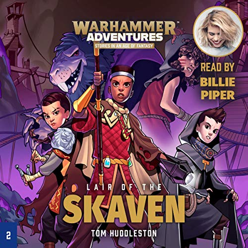 Warhammer Adventures: Lair of the Skaven Audiobook By Tom Huddleston cover art