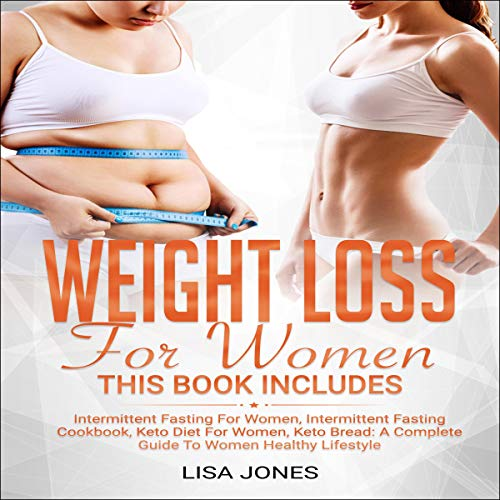 Weight Loss for Women: 4 Books in 1 Audiobook By Lisa Jones cover art