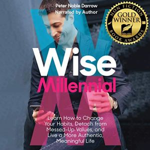 Wise Millennial Audiobook By Peter Noble Darrow cover art