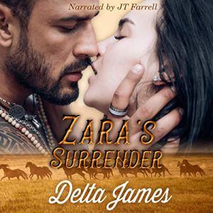 Zara's Surrender Audiobook By Delta James cover art