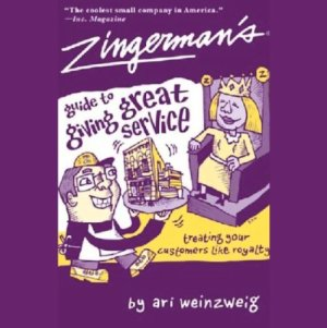 Zingerman's Guide to Giving Great Service Audiobook By Ari Weinzweig cover art