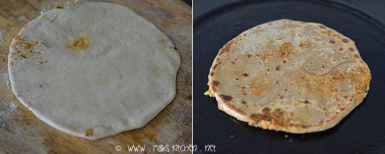 Cook gobi paratha method