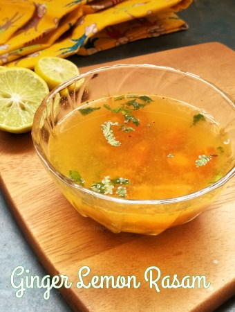 ginger lemon rasam recipe