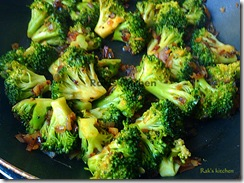 Indian style broccoli stir fry 4