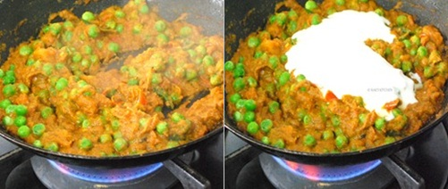 how to make matar paneer step 7