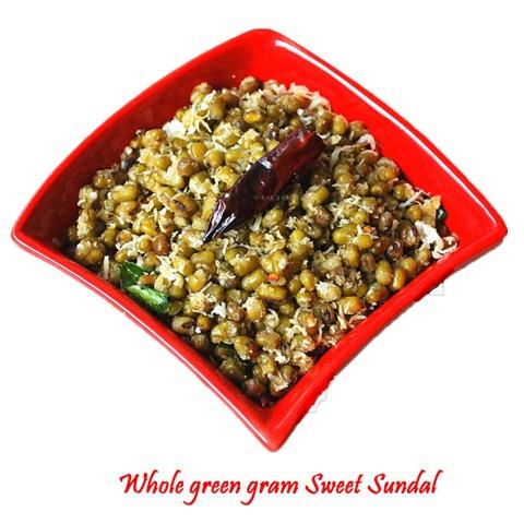 pachai payaru sweet sundal