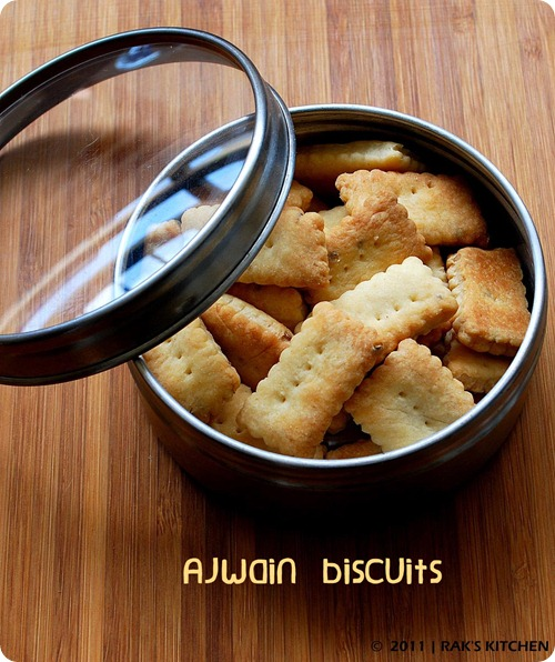 Oma biscuits / Ajwain biscuits