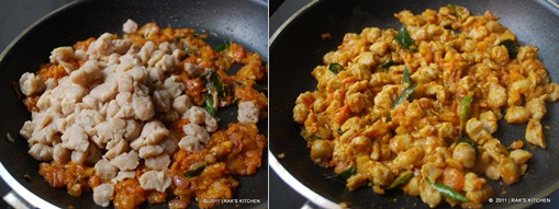 Soya chunks curry recipe 3