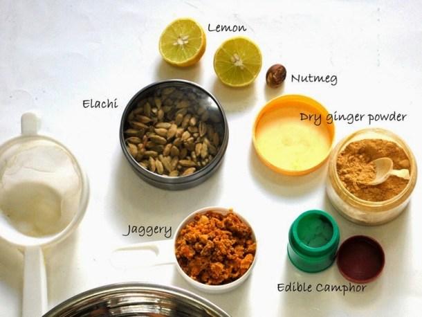 panakam ingredients