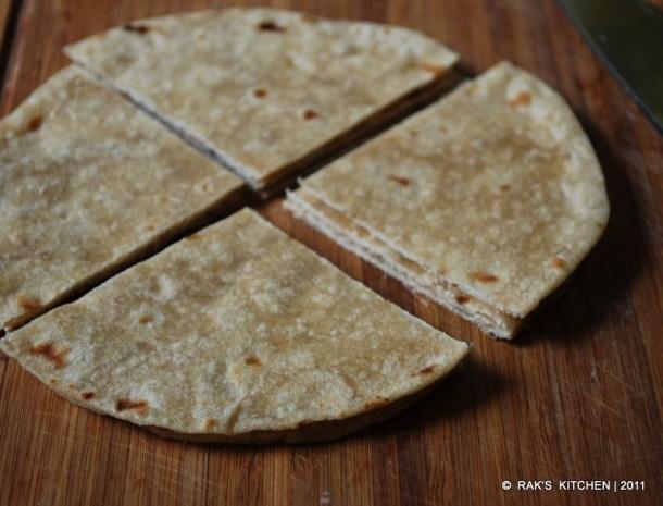 cut chapati
