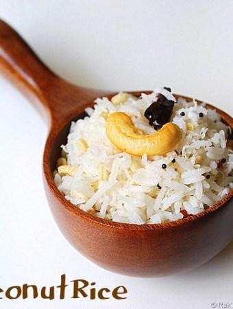 Coconut-rice-thengai-sadam