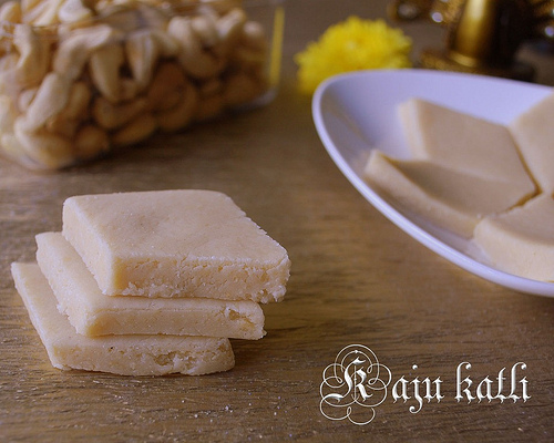 How to make kaju katli