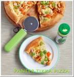 Paneer tikka pizza