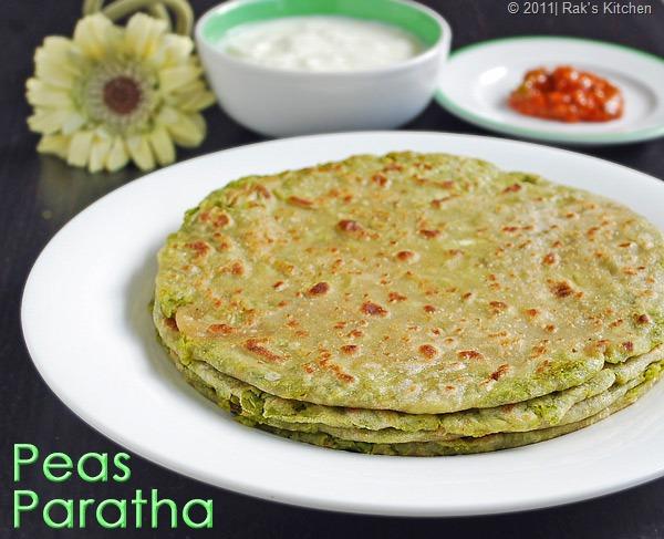 Peas-paratha-recipe