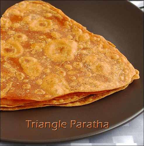 triangle-paratha-recipe