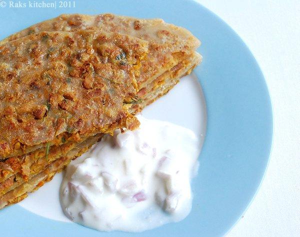veg-keema-paratha-recipe