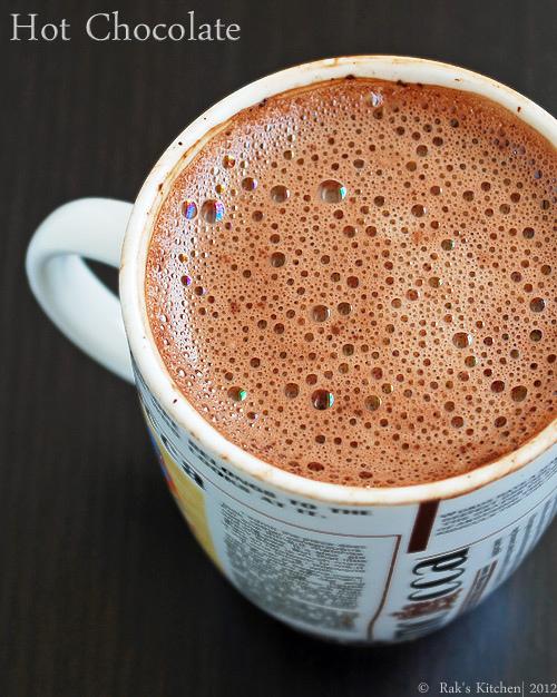 microwave hot chocolate recipe