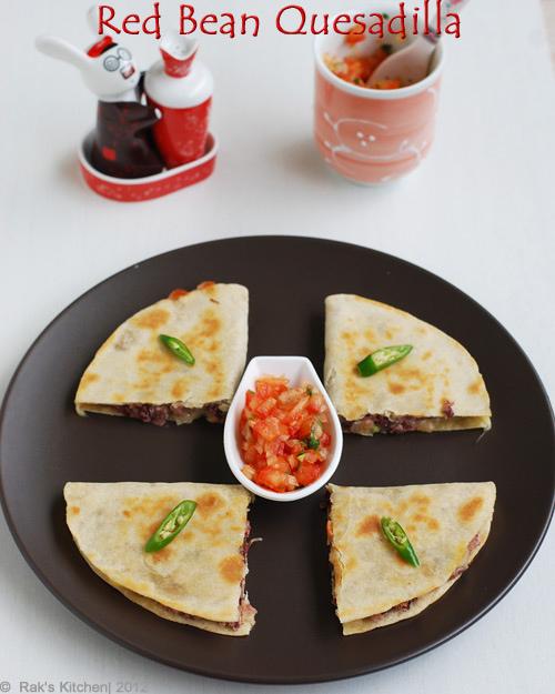 red-bean-quesadilla
