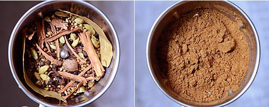 garam masala powder recipe step 2
