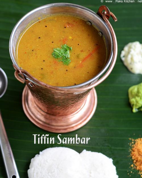 Tiffin samabr recipe