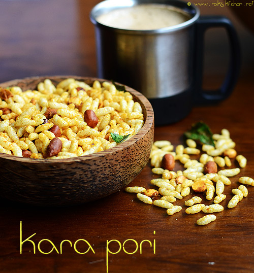 kara-pori+recipe/ Spiced puffed rice