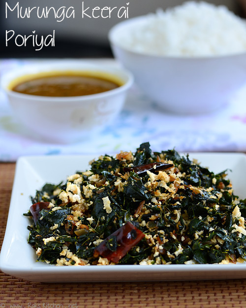 drumstick-leaves-stir fry