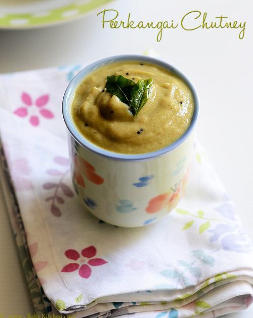 peerkangai-chutney-recipe