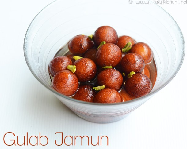 gulab-jamoon with kova