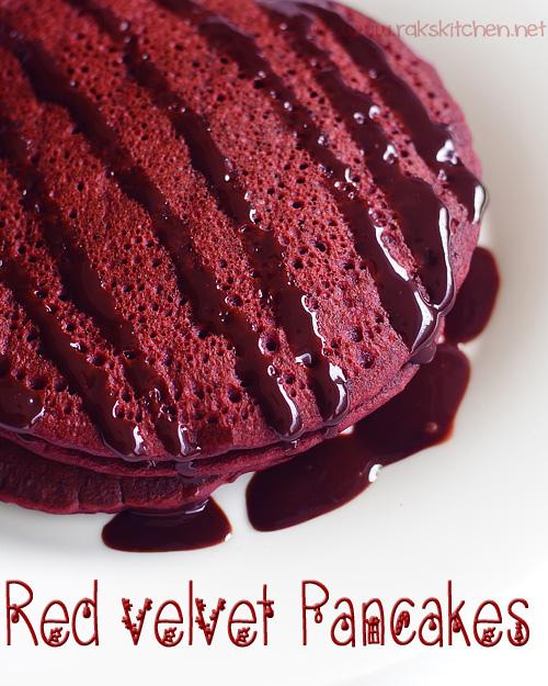eggless-red-velvet-pancakes