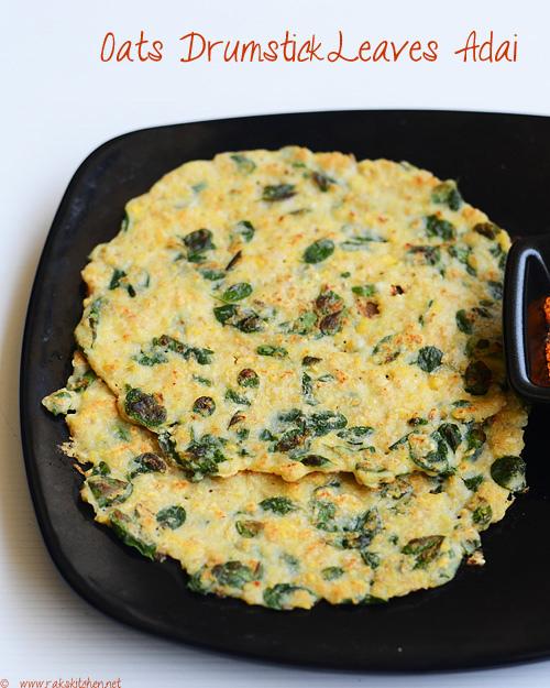 oats-adai-with-murungai-keerai