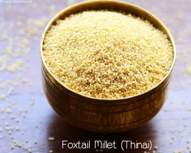 thinai foxtail millet recipes