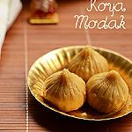 Khoya modak