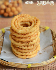 gokulashtami recipes - Kai murukku with video