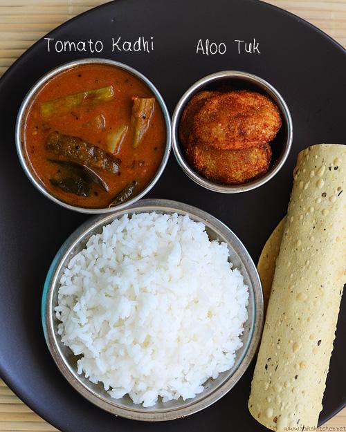 Sindhi Curry Aloo Took Lunch Menu 43 Raks Kitchen