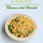 Channa dal sundal recipe