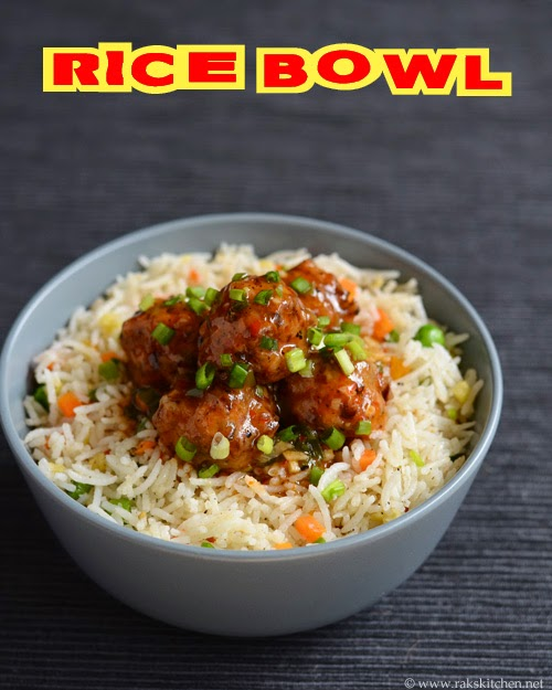 veg rice bowl