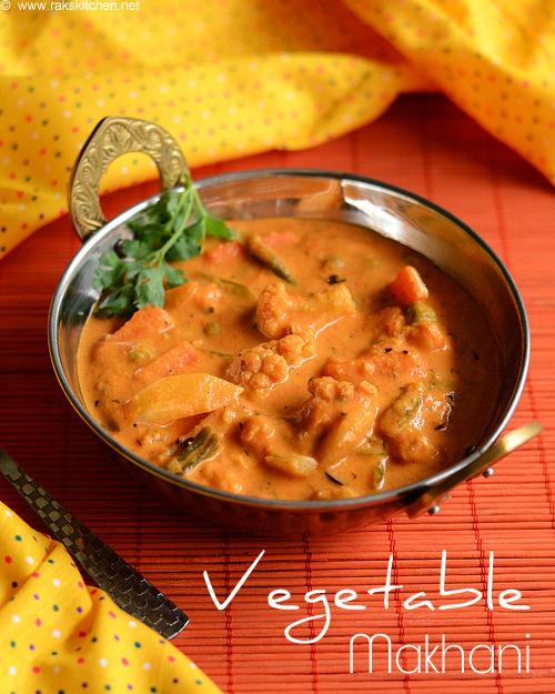 vegetable-makhani-recipe