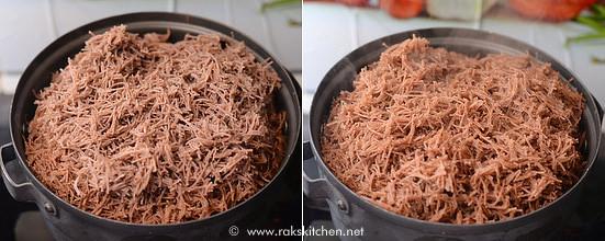 ragi semiya recipe step 2