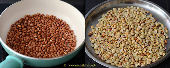 kadalai urundai recipe step 1
