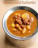 Kondakadalai kuzhambu recipe