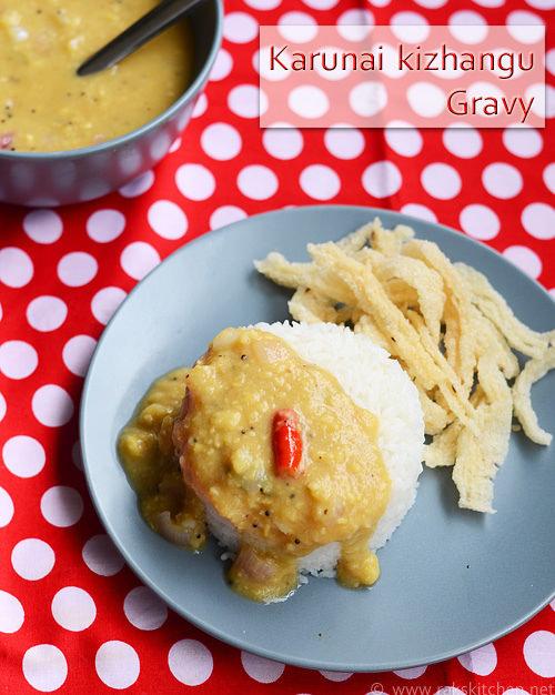 karunai-kizhangu-gravy-recipe