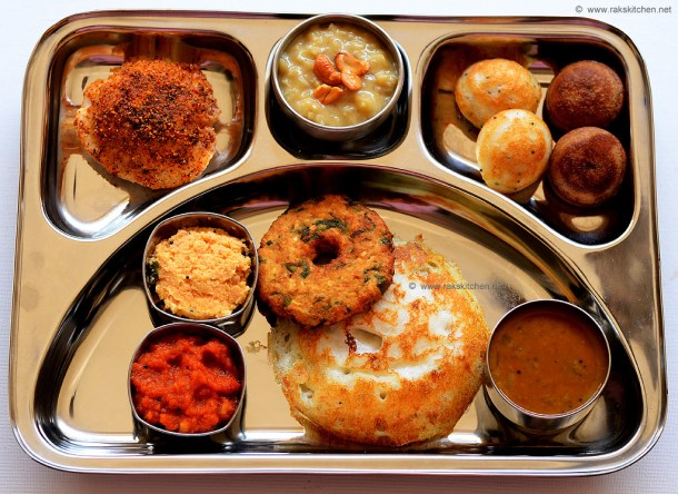 south Indian brunch menu