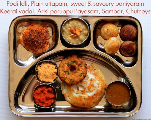 south Indian brunch ideas