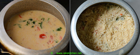 Thengai paal sadam recipe 7