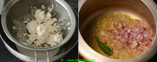 Thengai paal sadam recipe 3