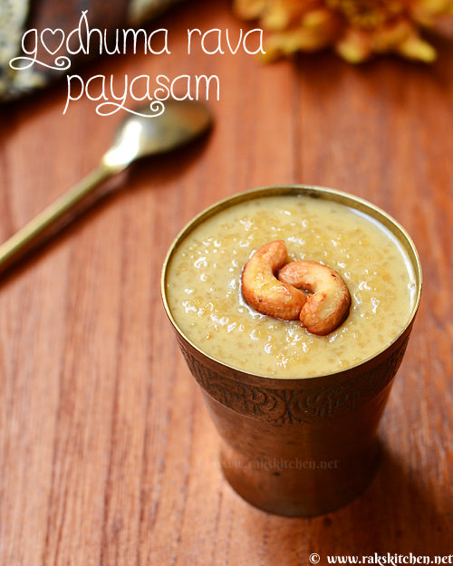 wheat-rava-payasam