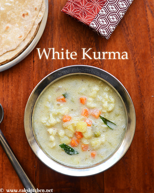 white-kurma